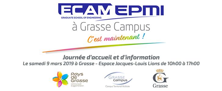 ECAM-EPMI à Grasse Campus