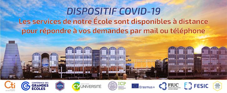 Info dispositif COVID